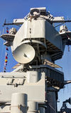 Nave da guerra di USS Iowa fotografia stock
