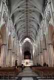 Nave da igreja de York, Reino Unido Foto de Stock Royalty Free