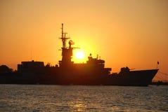 Nave de batalla Imagen de archivo libre de regalías