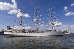 Nave de entrenamiento polaca de la vela Fotografía de archivo