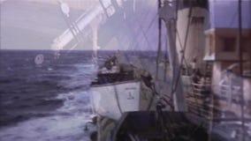 Nave de Front And Back View From - vintage 8m m almacen de video