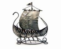 Nave de guerra antigua Imagen de archivo libre de regalías