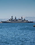 Nave de guerra chilena de la batalla Imagen de archivo