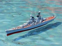 Nave de guerra modelo 20589 Fotografía de archivo