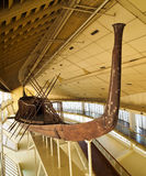 Nave de Khufu Imagenes de archivo