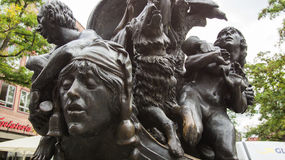 Nave de la escultura de los tontos Foto de archivo libre de regalías