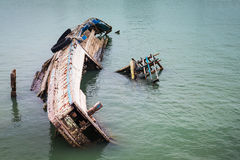 Nave de la ruina Imagen de archivo