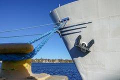 Nave de M/S Birger Jarl amarrada en el muelle fotografía de archivo