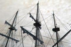 Nave de pirata vieja Imagen de archivo libre de regalías