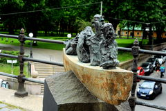 Nave de tontos, área de Sodermalm, Estocolmo, Suecia Foto de archivo libre de regalías