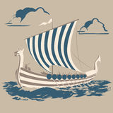 Nave de Viking libre illustration