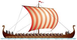 Nave de Viking, Longship, Drakkar Fotos de archivo