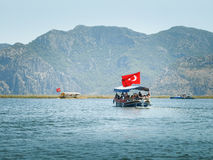 Nave de visita turístico de excursión Fotos de archivo