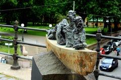 Nave degli sciocchi, area di Sodermalm, Stoccolma, Svezia Fotografia Stock Libera da Diritti