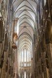 Nave dei DOM gotici a Colonia Fotografie Stock Libere da Diritti