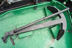 Nave del ancla de la maquinaria. Imagen de archivo libre de regalías