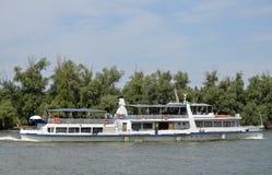 Nave del Danubio fotografia stock libera da diritti