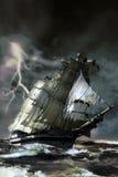 Nave del fantasma Imagen de archivo libre de regalías