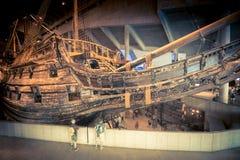 Nave del museo de los vasos en Estocolmo, Suecia Foto de archivo