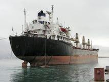 Nave del porta rinfuse di rimorchio della barca del rimorchiatore. Fotografie Stock Libere da Diritti