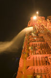 Nave del portador del petróleo crudo del petrolero Foto de archivo libre de regalías