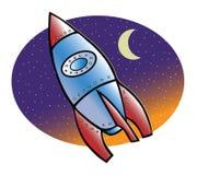 Nave del Rocket illustrazione di stock