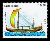 Nave del ` s di Sahu Pharaon, serie delle navi, circa 1988 Fotografie Stock Libere da Diritti