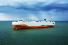 Nave del trasporto del traghetto Immagine Stock