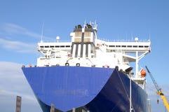 Nave del trasporto di caricamento Fotografie Stock