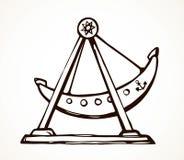 Nave dell'oscillazione Illustrazione di vettore illustrazione vettoriale
