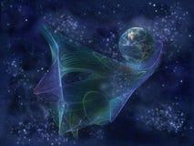 Nave dell'universo royalty illustrazione gratis