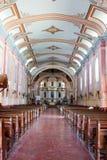 Nave della basilica di St Michael l'arcangelo Fotografia Stock