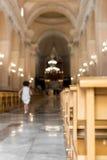 Nave della chiesa Fotografia Stock Libera da Diritti