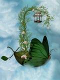 Nave della farfalla Immagine Stock Libera da Diritti