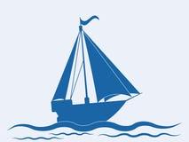 Nave della vela illustrazione di stock