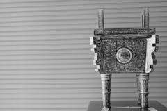 Nave di cottura antica antica cinese Immagini Stock Libere da Diritti