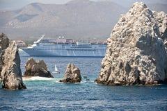Nave di Curise Fotografie Stock