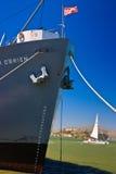 Nave di libertà degli ss Jeremiah O'Brien, San Francisco Immagini Stock Libere da Diritti