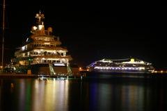 Nave di Luxus Fotografia Stock