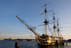Nave di navigazione. Fotografia Stock