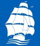 Nave di navigazione Immagine Stock