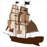 Nave di navigazione Immagine Stock Libera da Diritti