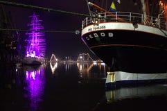 Nave di navigazione Sedov Fotografia Stock