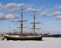 Nave di navigazione Two-Masted Immagini Stock Libere da Diritti