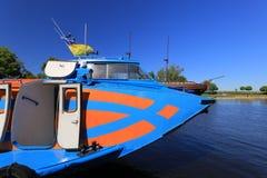 Nave di passeggero dell'aliscafo Fotografie Stock