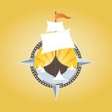 Nave di pirata royalty illustrazione gratis