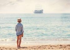Nave di pirata dal mio sogno Fotografie Stock