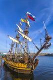 Nave di pirata olandese fotografia stock