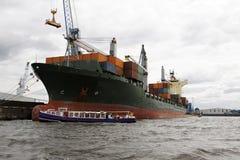 Nave di trasporto Fotografia Stock