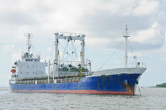 Nave di trasporto in mare fotografia stock libera da diritti